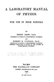 Green chemistry laboratory manual for general chemistry henrie a laboratory manual of physics for use in high schools fandeluxe Images
