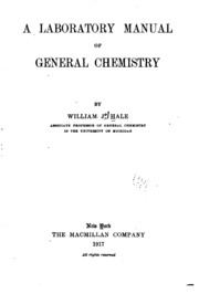 Green chemistry laboratory manual for general chemistry henrie a laboratory manual of general chemistry fandeluxe Images