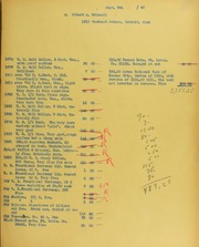 Albert A. Grinnell Invoices from B.G. Johnson, September 9, 1940, to October 1, 1940