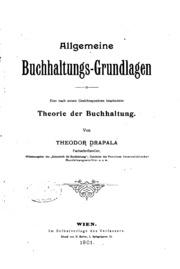 Allgemeine Buchhaltungs-grundlagen: Eine nach neuen Gesichtspunkten ...