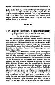 Allgemeine Missions-Zeitschrift: Monatshefte für geschichtliche und ...