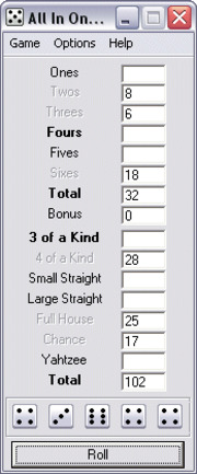 All In One Yahtzee Stefan Pettersson Free Download Borrow And