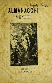 Almanacchi veneti