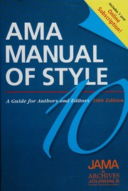 ama manual of style 10th edition free download