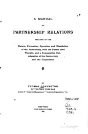 partnership digests obieta Conjugal partnership of gains: a proposal to amend the provisions governing the property relations between married couples 1996-1997 persons and family relations.