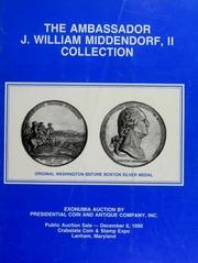 Ambassador J. William Middendorf, II Collection