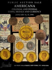 Americana: Colonial and Federal Coins, Medals and Currency