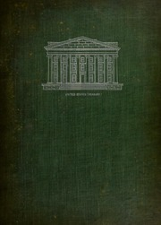 American Bankers Association Souvenir Volume of the Washington Meeting: Presented by Bankers Association of the District of Columbia to the Accredited Delegates to the 31st Annual Convention, October 10-13, 1905