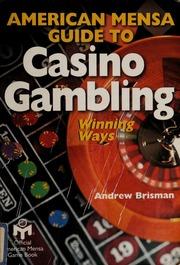 American mensa guide to casino gambling online casino zahlungsmethoden