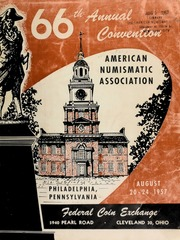American numismatic association : 66th annual convention auction sale. [08/21-26/1957]