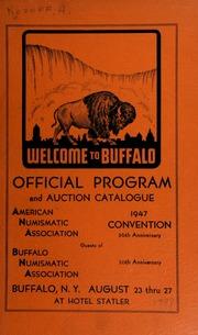 American numismatic association : 1947 convention auction sale. [08/26-27/1947]