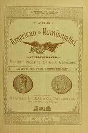 The American Numismatist, vol. 1, no. 5