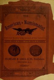 The American Numismatist, vol. 1, no. 8