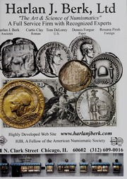 American Numismatic Society Magazine: Spring 2008