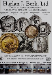 American Numismatic Society Magazine: Summer 2008