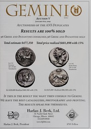 American Numismatic Society Magazine: Summer 2009