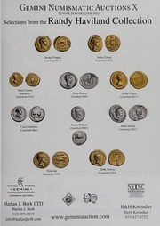 American Numismatic Society Magazine: 2012, Issue 3