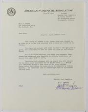 American Numismatic Association, 1956