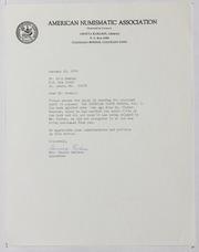 American Numismatic Association, 1970-1972