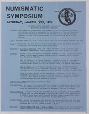 American Numismatic Association, 1976