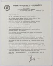 American Numismatic Association, 1978-1979