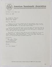 American Numismatic Association, 1987