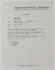 American Numismatic Association, 1989