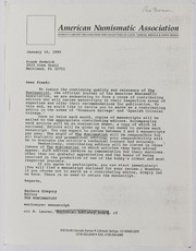 American Numismatic Association, 1990-1993