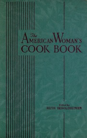 Cookbooks and Home Economics : Free Texts : Free Download
