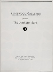 The Amherst Sale