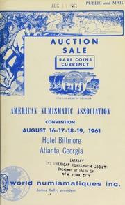 A.N.A. convention auction sale. [08/16-19/1961]