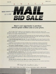 ANACS mail bid sale ... Steve Ivy Rare Coins. [10/30/1981]