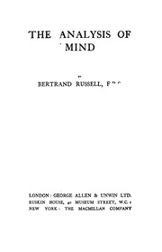 gilbert ryles the concept of mind essay Gilbert ryle (1949), wrote in the concept of mind: there is a doctrine about the nature and place of minds which is so prevalent among theorists and even among laymen that it deserves to be described as the official theory   .