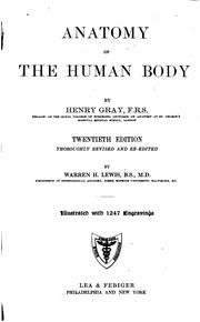 anatomy descriptive and surgical by henry gray pdf