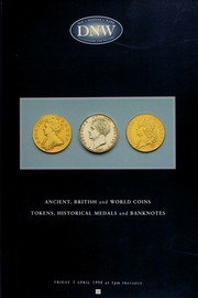 Ancient, British and world coins, tokens, hisotrical medals, and banknotes ... [04/03/1998]