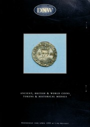Ancient, British & world coins, tokens and historical medals ... [04/14/1999]