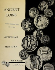Ancient coins : auction sale. [03/15/1974]