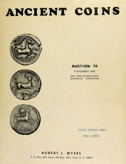 Ancient coins : auction 13 ... New York International Numismatic Convention ... [12/09/1976]
