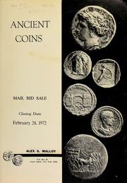 Ancient coins : mail bid sale. [02/28/1972]