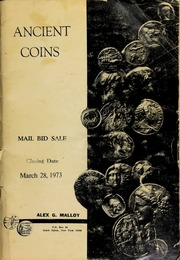 Ancient coins : mail bid sale. [03/28/1973]