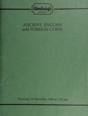 Ancient, English and foreign coins, [including] a Mexico, Philip V, half-real, 1732, pillar type, without assayer's initial; [also] a Doncaster, New Betting Rooms, 1800, silver token by Halliday;  ... [12/14/1989]