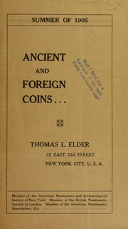 Ancient and Foreign Coins