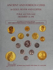 Ancient and Foreign Coins in Gold, Silver and Copper