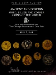 Ancient and Foreign Gold, Silver and Copper Coins of the World