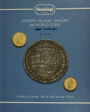 Ancient, Islamic, English and world coins, including a collection of Gaulish and other Celtic coins; a small group of seven Anglo-Saxon coins from the famous Cuerdale Hoard of 1840;  ... [10/12/1992]