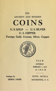 Ancient and modern coins : U.S. Gold ... [02/01/1947]