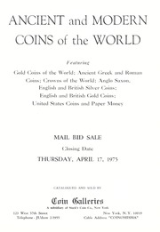 Ancient and Modern Coins of the World: Great Britain and the United States