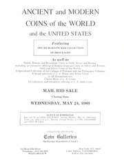 Ancient and Modern Coins of the World and the United States