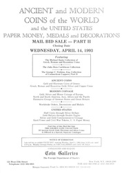 Ancient and Modern Coins of the World and the United States, Paper Money, Medals and Decorations: Part II (pg. 120)