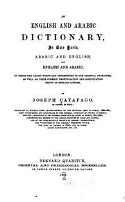 an english and arabic dictionary joseph catafago internet archive